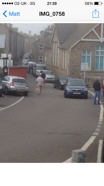 Parking Mayhem in St Ives