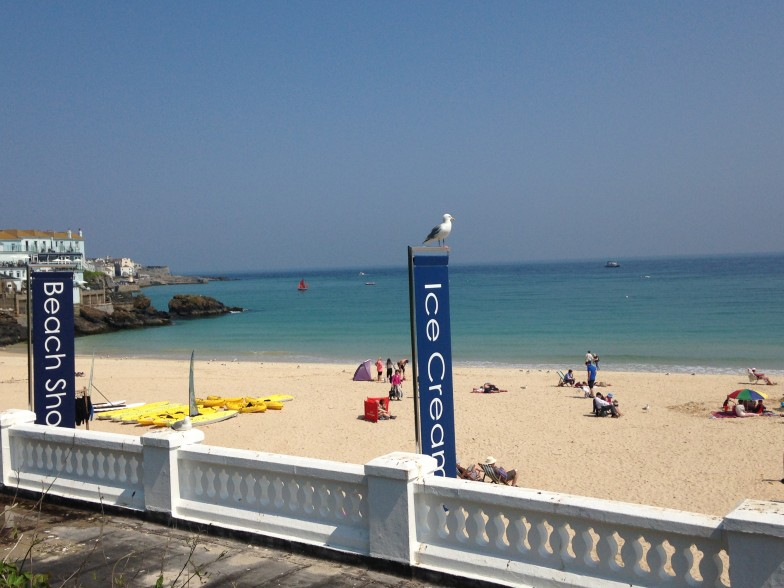 Summer is here in St Ives!